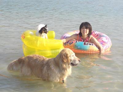 りんママ組 海水浴!!