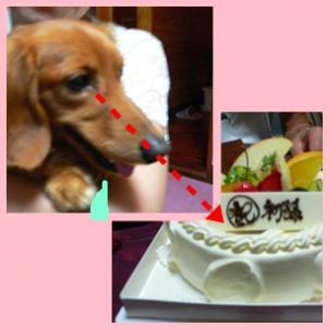 初孫ケーキ