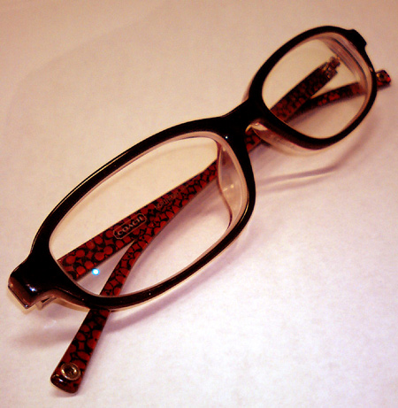愛用のメガネ