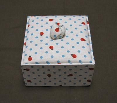 カルトナージュの箱