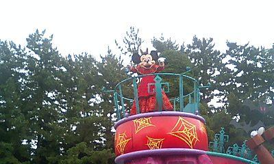 パレードのミニーさん