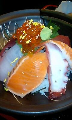 海鮮丼に近づけっ!