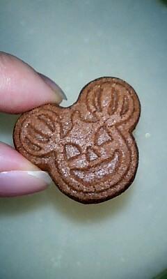 ぷちカボチャミッキー