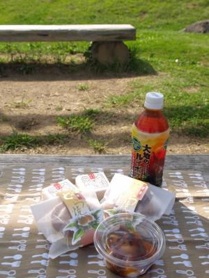 すがの屋の菓子@会津総合運動公園