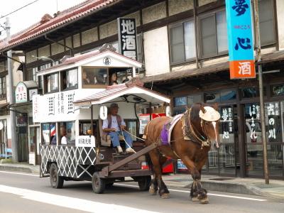観光蔵馬車@喜多方