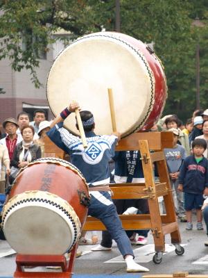 会津藩公行列2009 (会津鶴ヶ城太鼓若駒会)