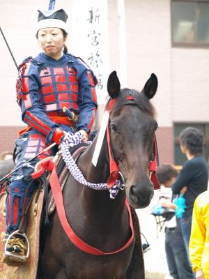 会津藩公行列2009 (先触れ)
