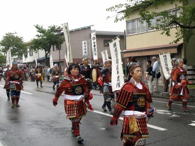 会津藩公行列2009 (横須賀開国甲冑隊)