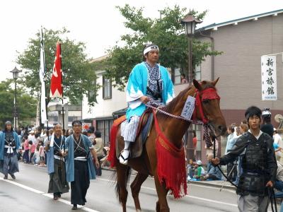 会津藩公行列2009 (新撰組・ひの新撰組)