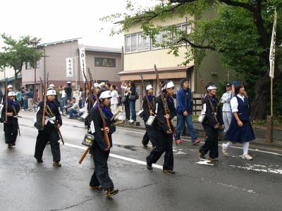 会津藩公行列2009 (白虎一番隊)