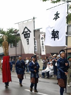 会津藩公行列2009 (本陣)