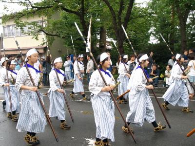 会津藩公行列2009 (白虎二番隊)