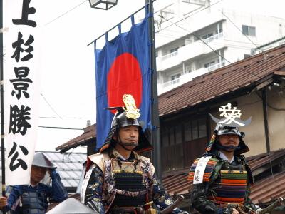 会津藩公行列2009 (上杉景勝公、直江兼続公)