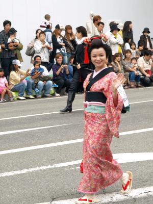 会津藩公行列2009 (土方歳三の許婚、お琴)