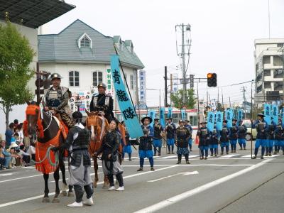 会津藩公行列2009 (青龍隊)