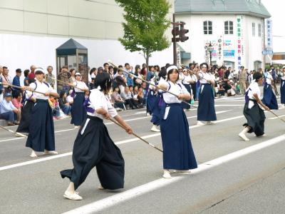 会津藩公行列2009 (薙刀隊)