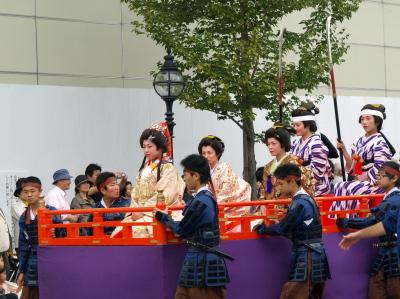 会津藩公行列2009 (照姫の輿車)