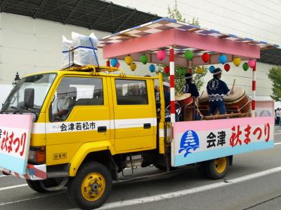 会津藩公行列2009 (おはやし車)