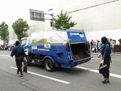 会津藩公行列2009 (清掃車)