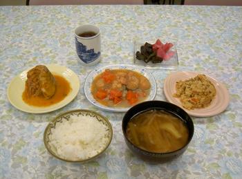 3月8日 昼食