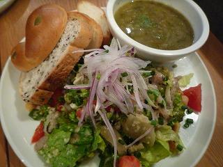 eat more greens(スープサラダランチ)
