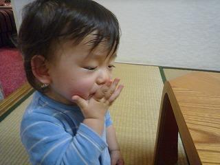 みかん食べる (4)