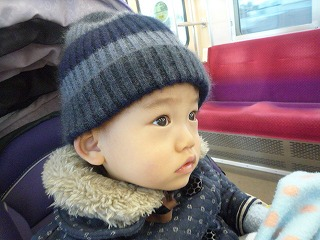 110107_れいちゃんからのコート&帽子 (10)