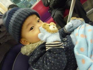 110107_れいちゃんからのコート&帽子