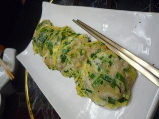 韓日館(牡蠣チヂミ)
