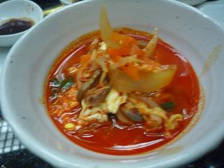 韓日館(ユッケジャンスープ)