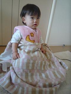 110110_朝電気毛布