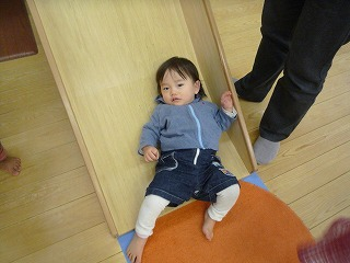 110116_あっぴぃ(すべり台) (2)