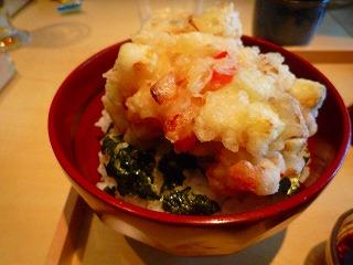 東郷(塩かきあげ丼)