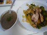 チキンwマッシュルームソース (2)