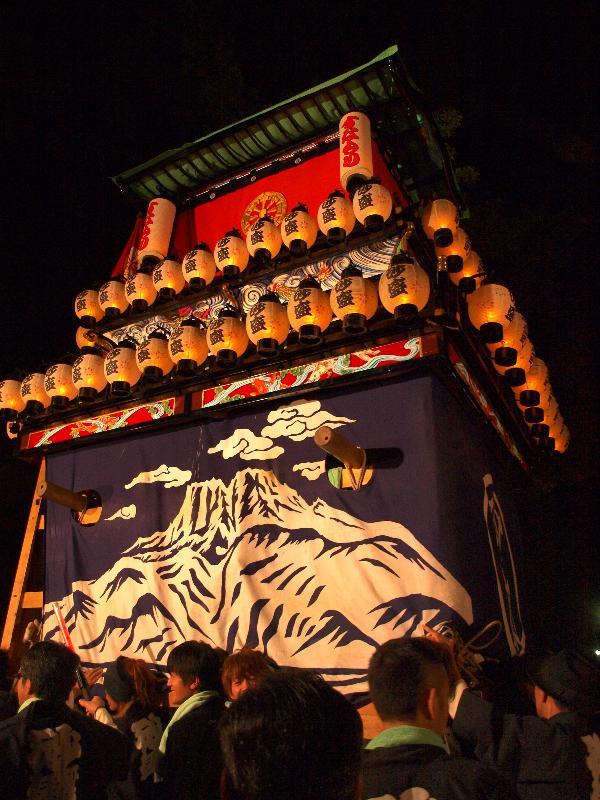 西条祭り 伊曽乃神社 宮出し