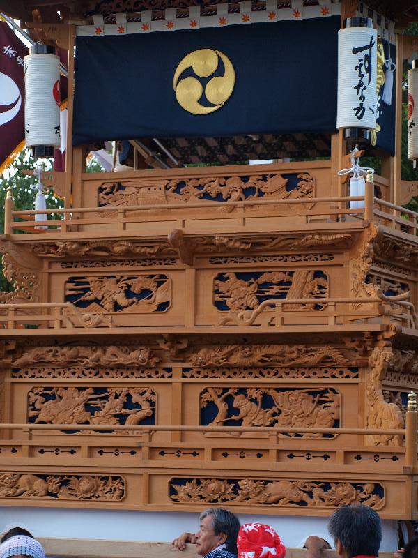 西条祭り 石岡神社 馬場入り