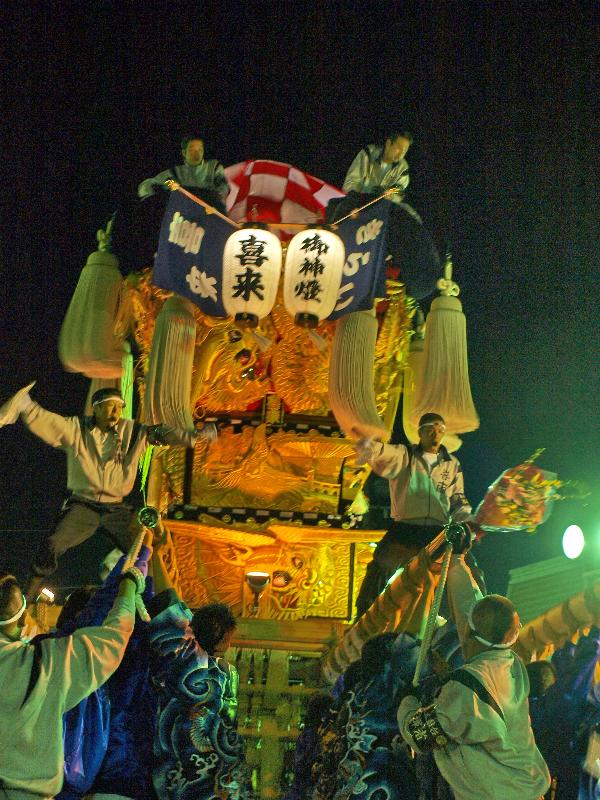 新居浜太鼓祭り Mac統一寄せ 大生院地区