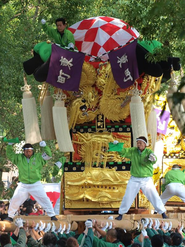新居浜太鼓祭り 一宮の杜ミュージアム 東町