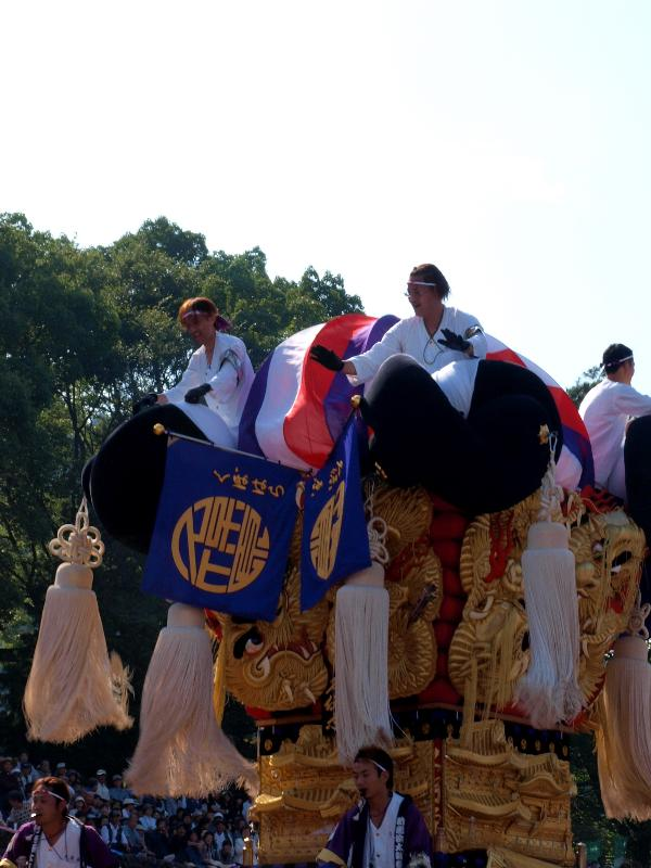 新居浜太鼓祭り 山根公園 船木地区