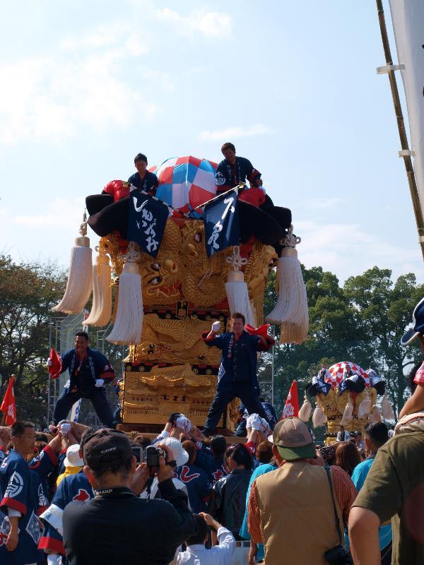 新居浜太鼓祭り 山根公園グラウンド 泉川地区太鼓台