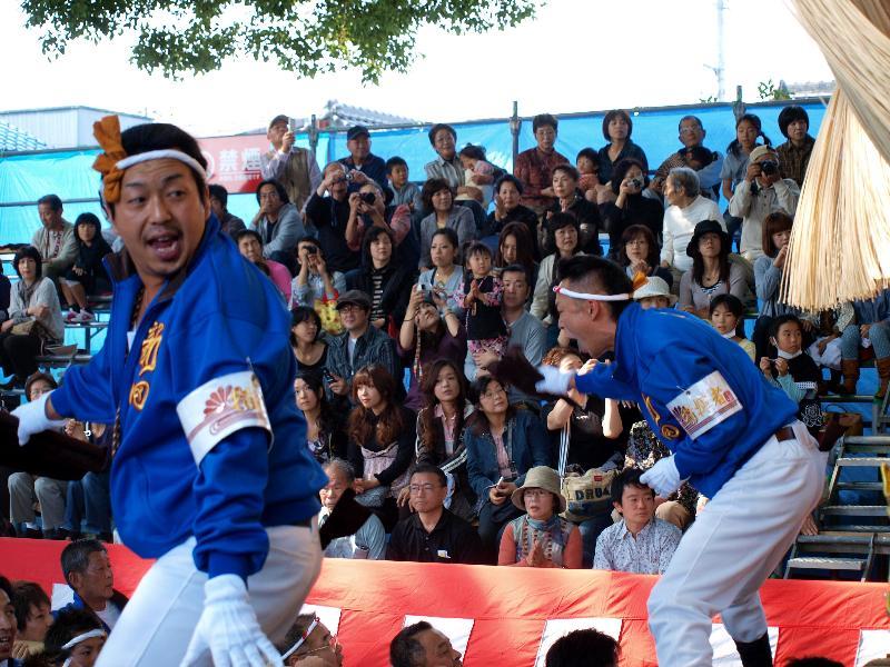 新居浜太鼓祭り 一宮の杜ミュージアム 新田太鼓台