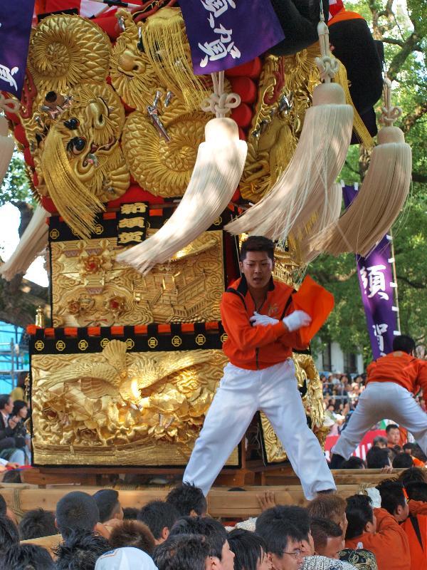 新居浜太鼓祭り 一宮の杜ミュージアム 新須賀太鼓台
