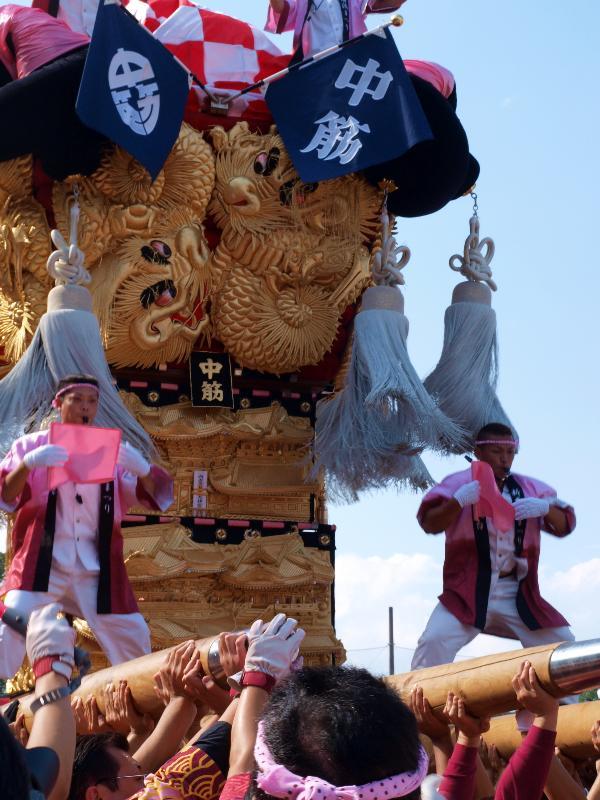 新居浜太鼓祭り 山根公園グラウンド 角野地区太鼓台