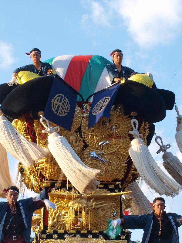 新居浜太鼓祭り 八幡神社かきくらべ 宇高太鼓台