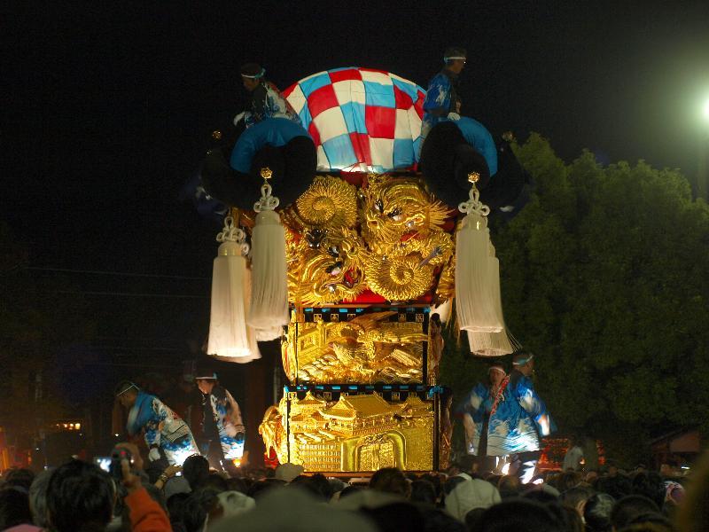 新居浜太鼓祭り 八旗神社 東浜太鼓台