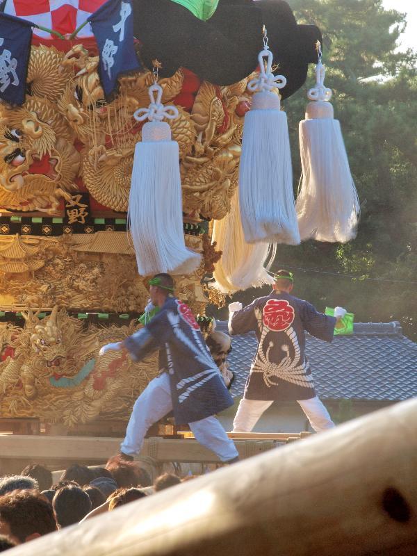 新居浜太鼓祭り 八旗神社宮入 又野太鼓台
