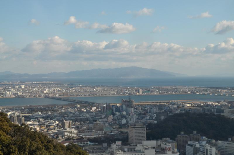 徳島市 眉山ロープウェイ 眺め