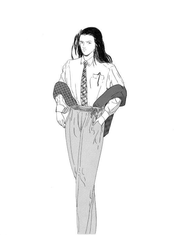 イラスト Woman No.10