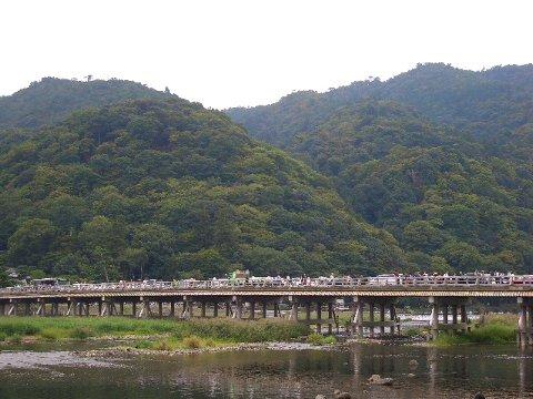 嵐山・嵯峨野① 渡月橋♪
