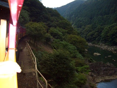 トロッコ列車①